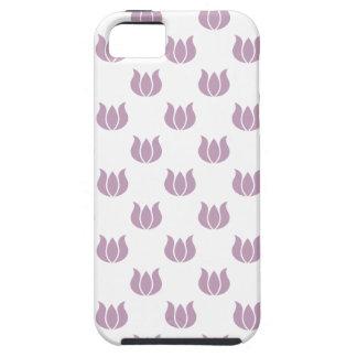 Flower Pattern 5 Mauve Mist iPhone 5 Case