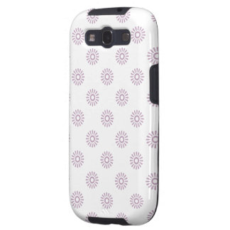 Flower Pattern 6 Mauve Mist Galaxy S3 Covers