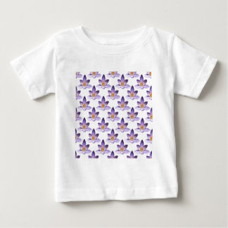 Flower Pattern Baby T-Shirt