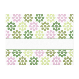 Flower Pattern canvas print, customize Canvas Print