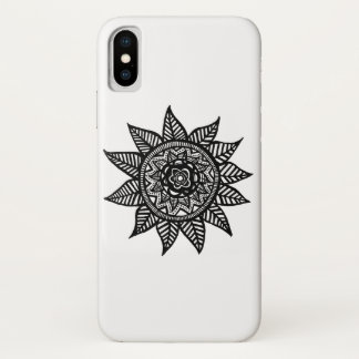 Flower Pattern Case by AAdoodles for Iphone X