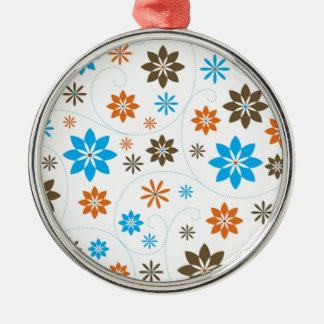 Flower Pattern Christmas Ornament