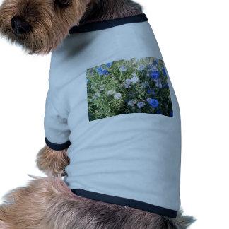 Flower Pattern Dog Clothes
