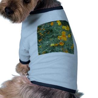Flower Pattern Pet Clothes