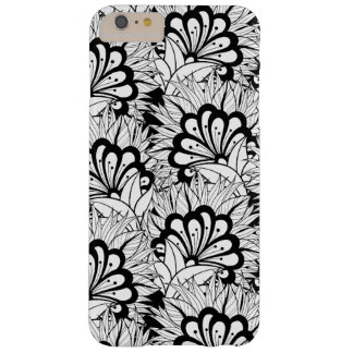 Flower Pattern Doodle Barely There iPhone 6 Plus Case