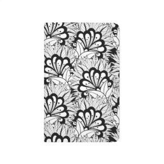Flower Pattern Doodle Journal