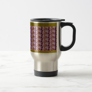 Flower Pattern Elegant Gifts all occasions Purple Coffee Mugs