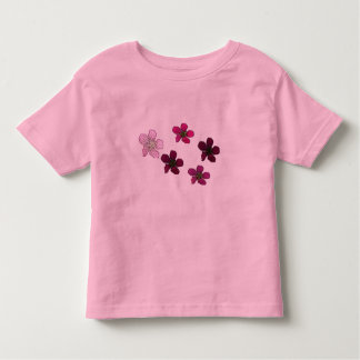 Flower Pattern Kids Shirt