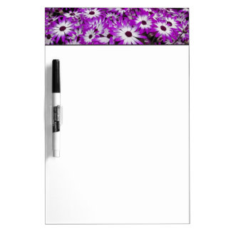 Flower pattern, Kuekenhof Gardens, Lisse, Dry Erase Whiteboard