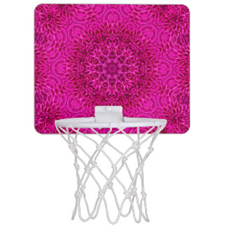 Flower Pattern  Mini Basketball Goal Mini Basketball Hoop
