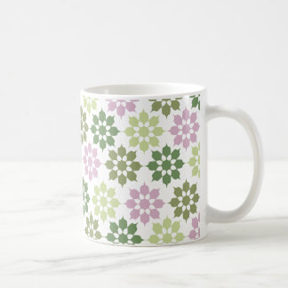 Flower Pattern mug - choose style & color