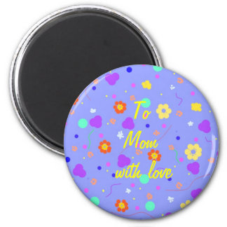 Flower Pattern products, fully customisable. Magnet
