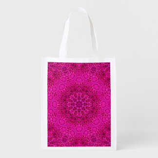 Flower Pattern Reusable Bag