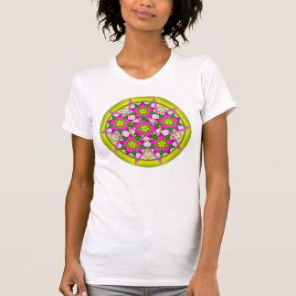 Flower pattern t-shirt. tshirt