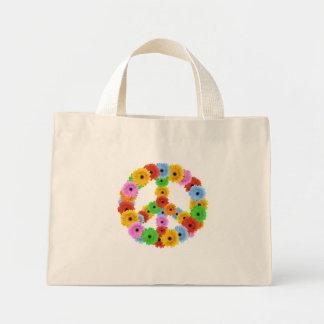 Flower Peace Symbol Bag