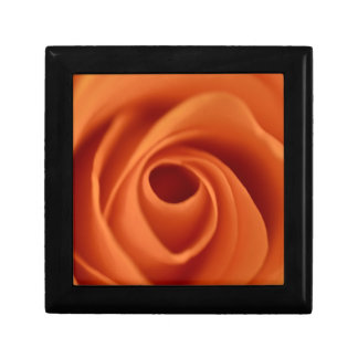 Flower Peach Rose Gift Box
