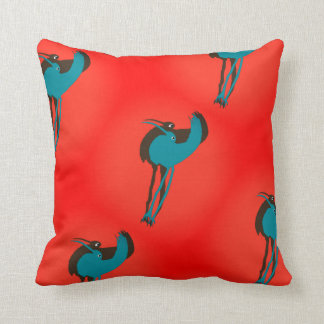 """Flower Pecker"" Throw Cushion"