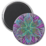 Flower Petal Mandala Magnets