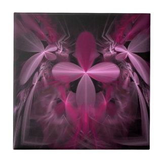 Flower Petals In Beautiful Pink Tile