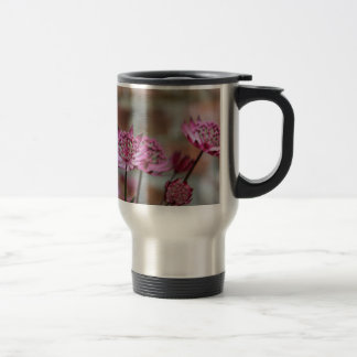 Flower photo Purple Astrantia picture Travel Mug