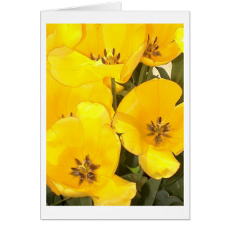 "Flower Photography - ""Yellow Flower 07"" Greeting Card"