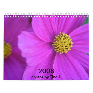 Flower Pictures Wall Calendar