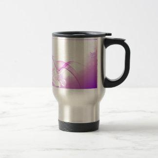 Flower-Pink-Background-Vector-Art DIGITAL REALISM Mug