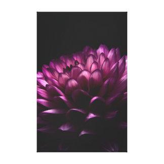 Flower Pink Dahlia Gallery Wrap Canvas
