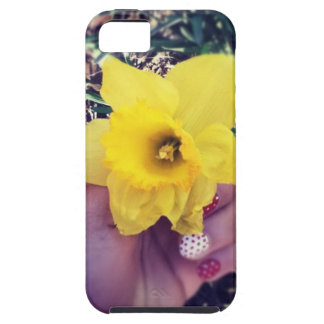Flower Polkadot Case For The iPhone 5