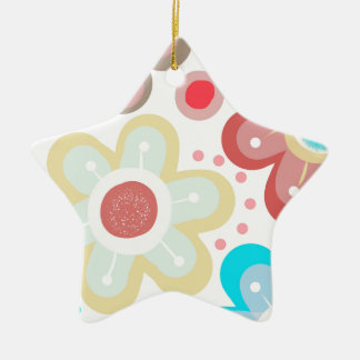 Flower Pop Christmas Ornament