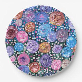 Flower Pop Paper Plate