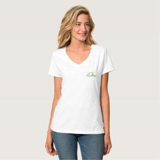 Flower Pose Logo T-Shirt (Cat Pose)