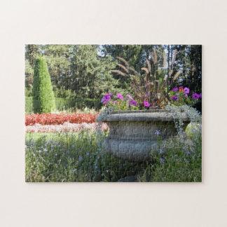 Flower Pot Duncan Garden Puzzle