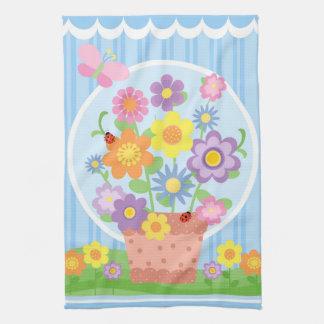 Flower Pot Kitchen Towel