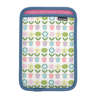Flower Pots iPad Mini Sleeve