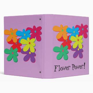 Flower Power Avery Binder