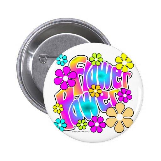 Flower Power Pin