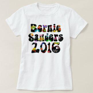 Flower Power Bernie Sanders 2016 T-Shirt
