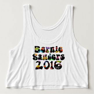Flower Power Bernie Sanders 2016 Tank Top