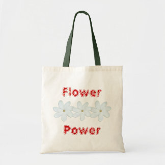 Flower Power Budget Tote Bag