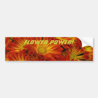 Flower Power! Bumper Sticker