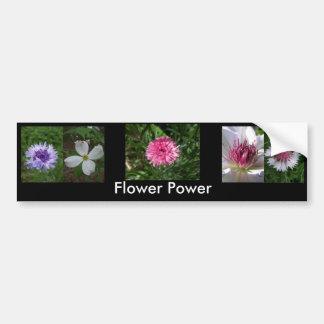 Flower Power by Jocelyn Burke Bumper Sticker
