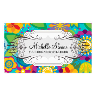 Flower Power Chic Business Card