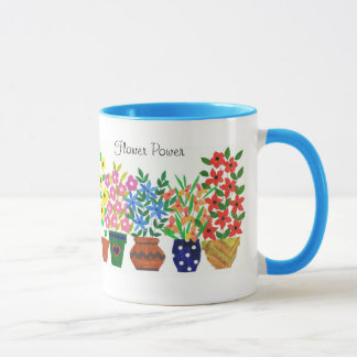 'Flower Power' Coffee Mug