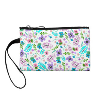Flower Power Coin Wallets