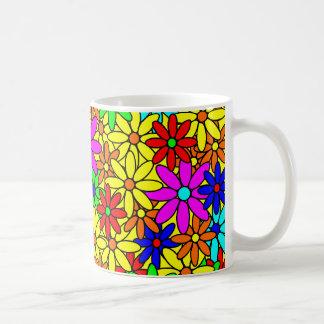 Flower Power Collage Coffee Mug