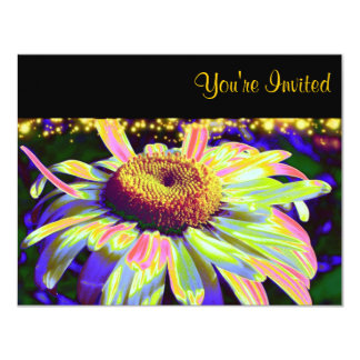 Flower Power Custom Wedding Invitations