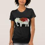 Flower Power Elephant Tee Shirts