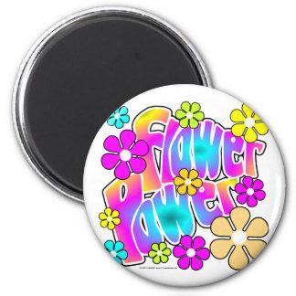 Flower Power Fridge Magnets