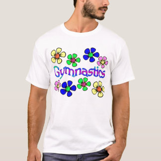 Flower Power Gymnast T-Shirt